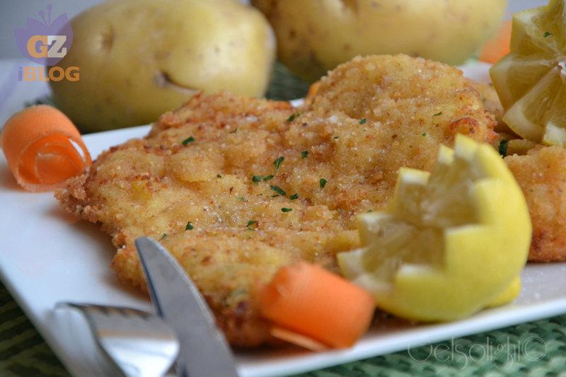 cotoletta con panatura di patate or