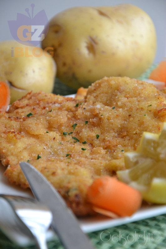 cotoletta con panatura di patate vert