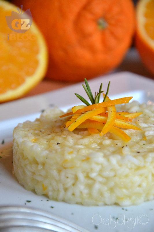 risotto all'arancia vert