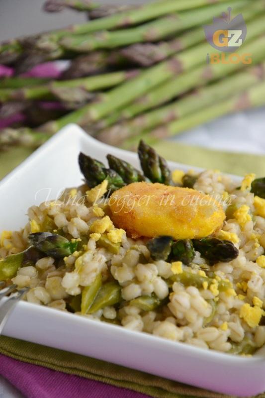 orzo con asparagi e uova (3)