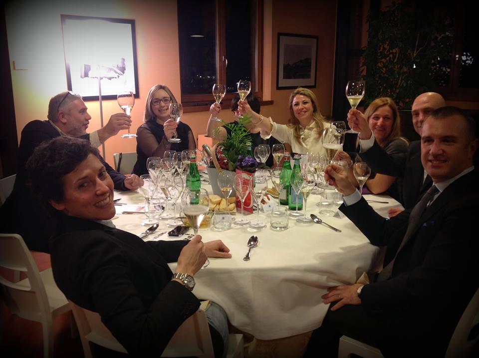 tavolo cena dei tre gamberi