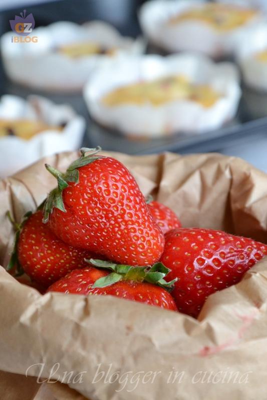 muffin fragole e cioccolato (1)
