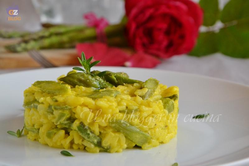 risotto asparagi e zafferano (1)