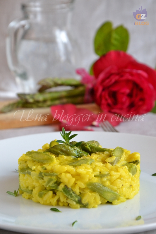 risotto asparagi e zafferano (2)