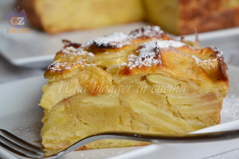 torta fondente di mele (2)