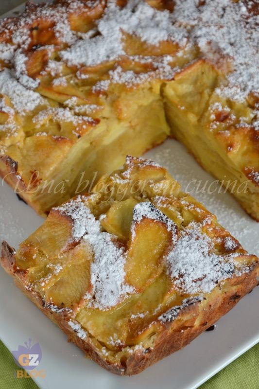 torta fondente di mele (4)