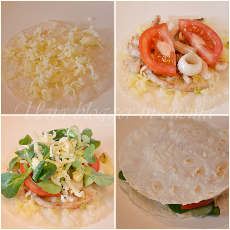 collage quesadillas