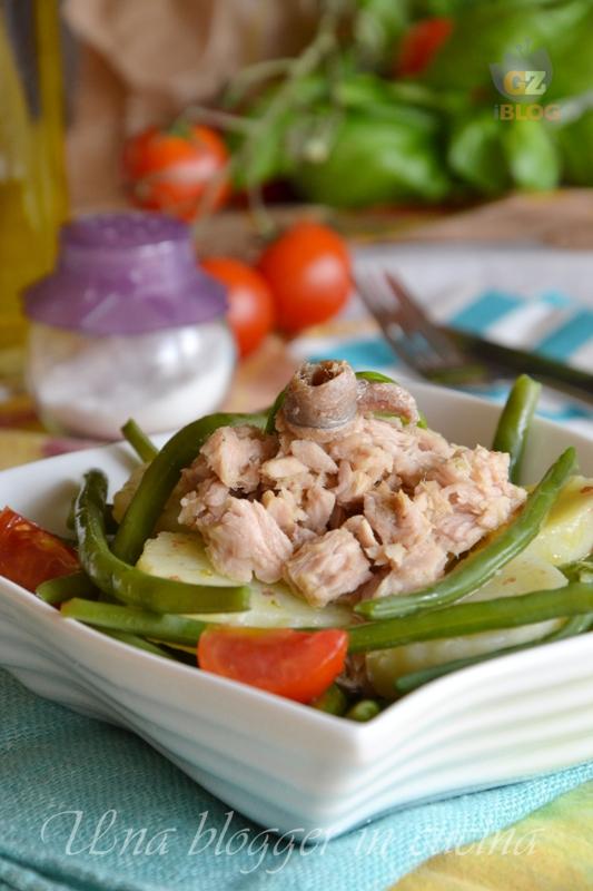 insalata di fagiolini patate e tonno (2)
