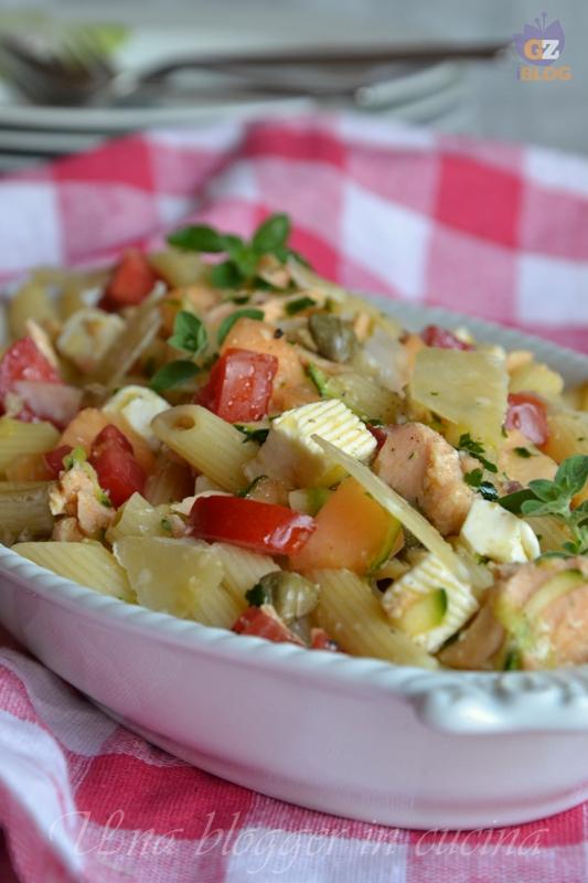 pasta fredda con salmone (1)