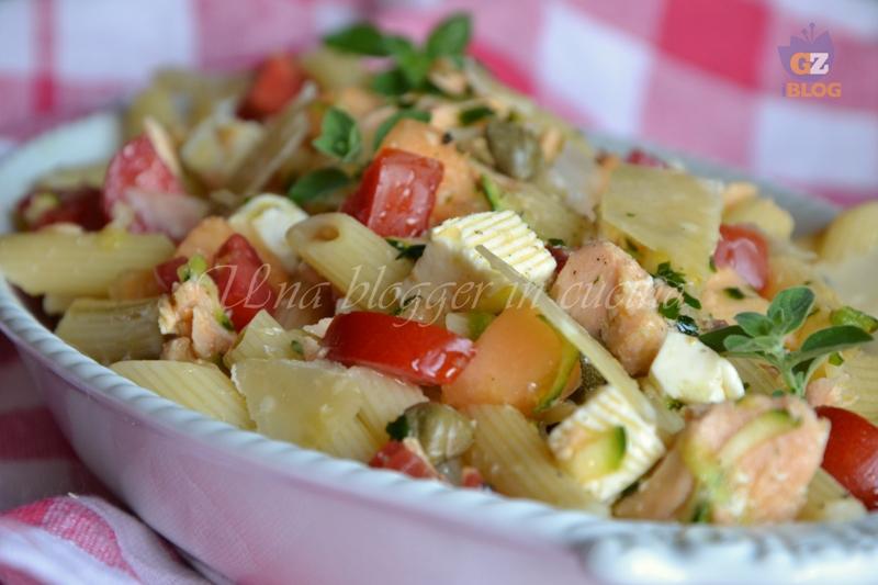 pasta fredda con salmone (2)