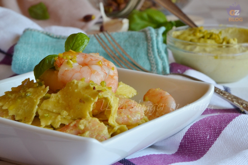maltagliati al pesto di pistacchi e mazzancolle (1)