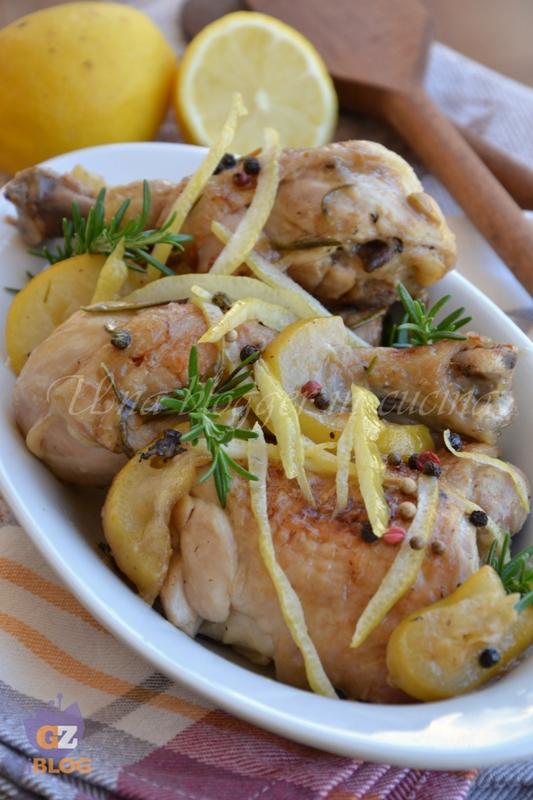 Pollo al limone for Casa arredo fano
