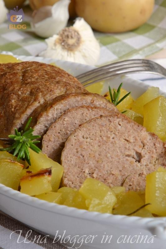 polpettone con patate (6)