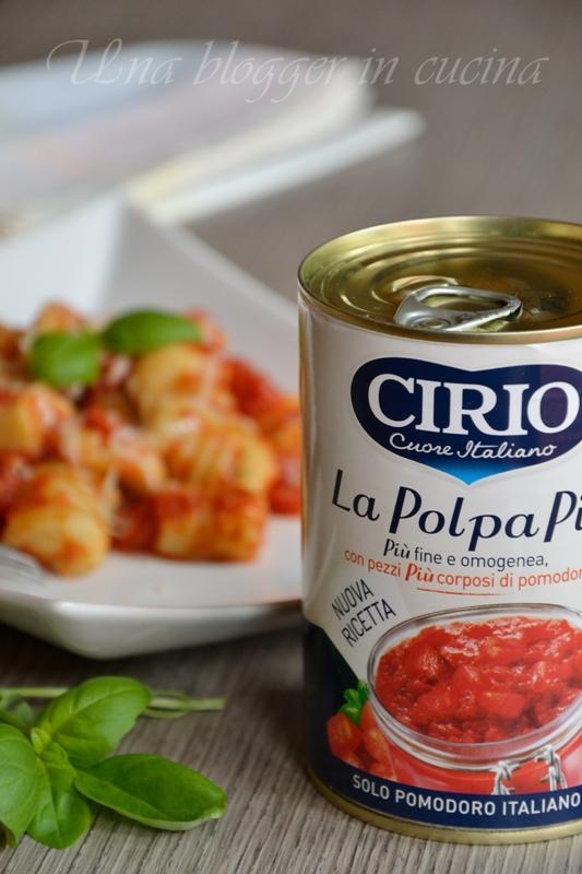 Gnocchi di ricotta e basilico con pomodoro - Cirio (1)