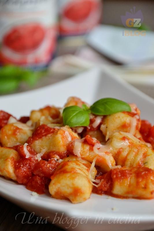 Gnocchi di ricotta e basilico con pomodoro - Cirio (4)
