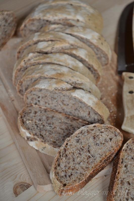 Pane integrale ai semi di lino (4)