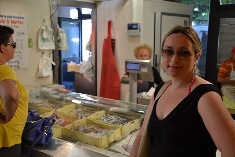 mercato del pesce di fano