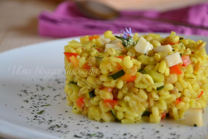 Cinque cereali verdure curcuma scamorza (2)