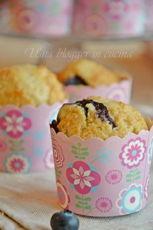 Muffin farro e mirtilli (2)