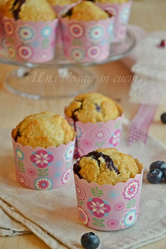Muffin farro e mirtilli (3)