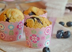 Muffin al farro e mirtilli