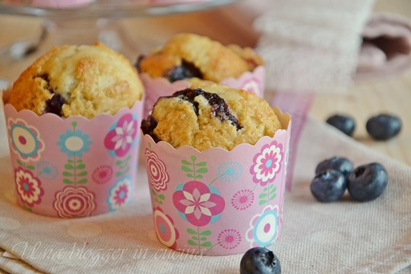 Muffin farro e mirtilli (5)