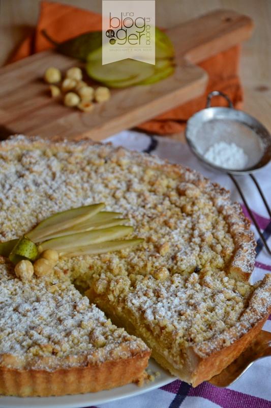 crostata crumble con pere e nocciole (1)