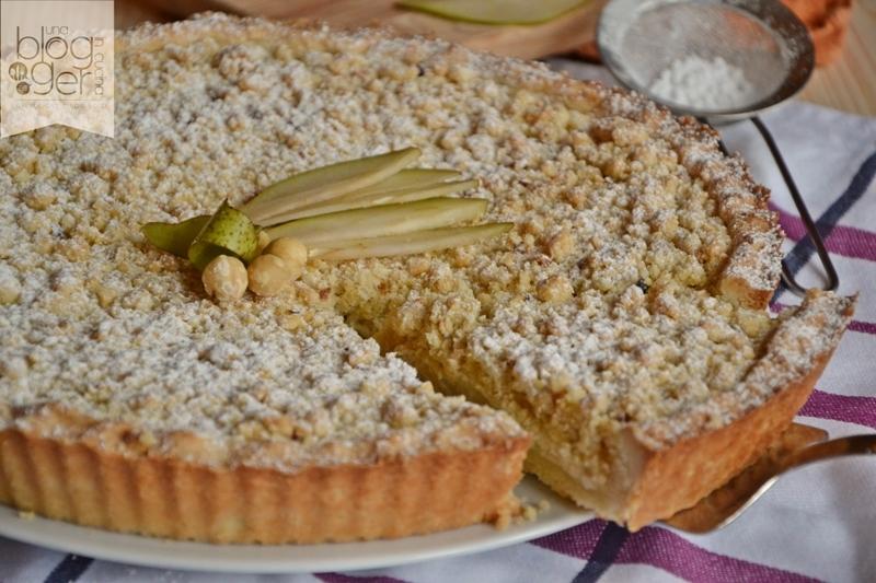 crostata crumble con pere e nocciole (4)