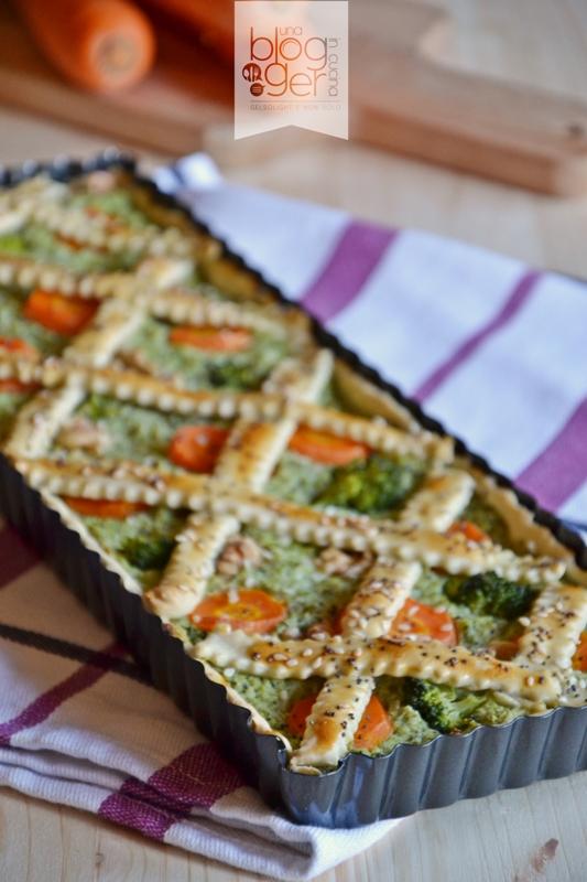 crostata salata broccoli carote porri (4)