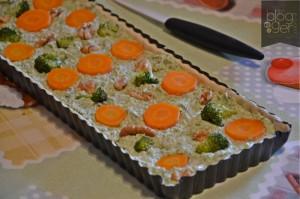 crostata salata broccoli carote porri (5)