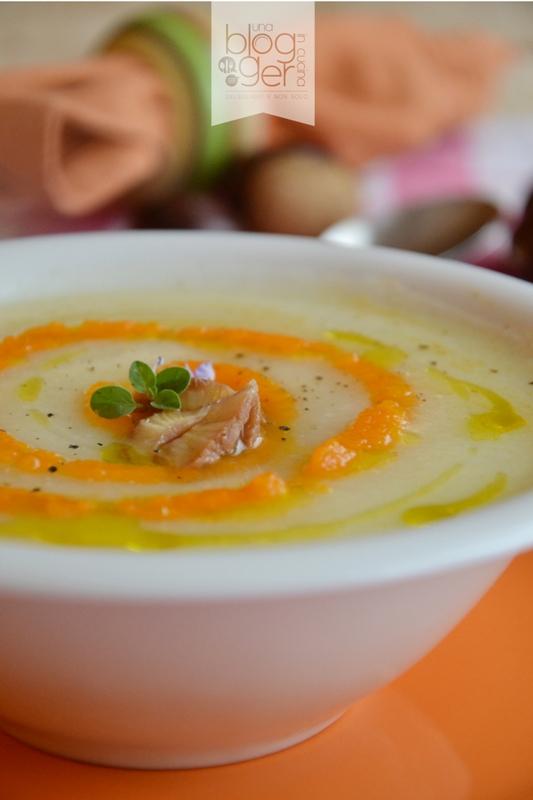 vellutata cavolfiore zucca e castagne (2)