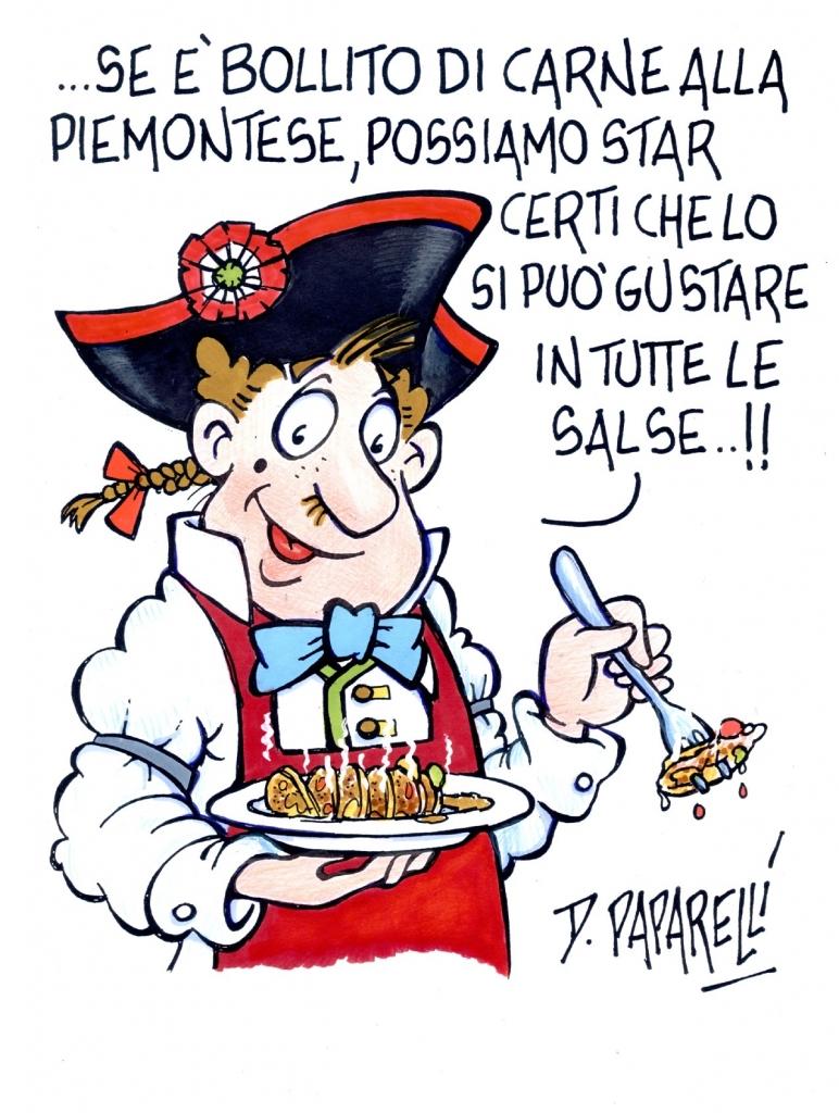 Tudichetagliosei- Bollito misto alla Piemontese con salse