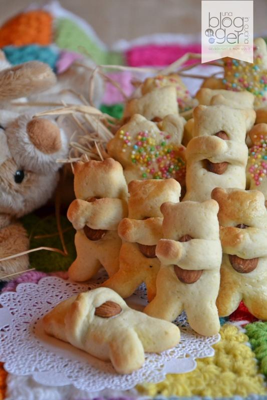 Biscotti orsetto con frolla leggera