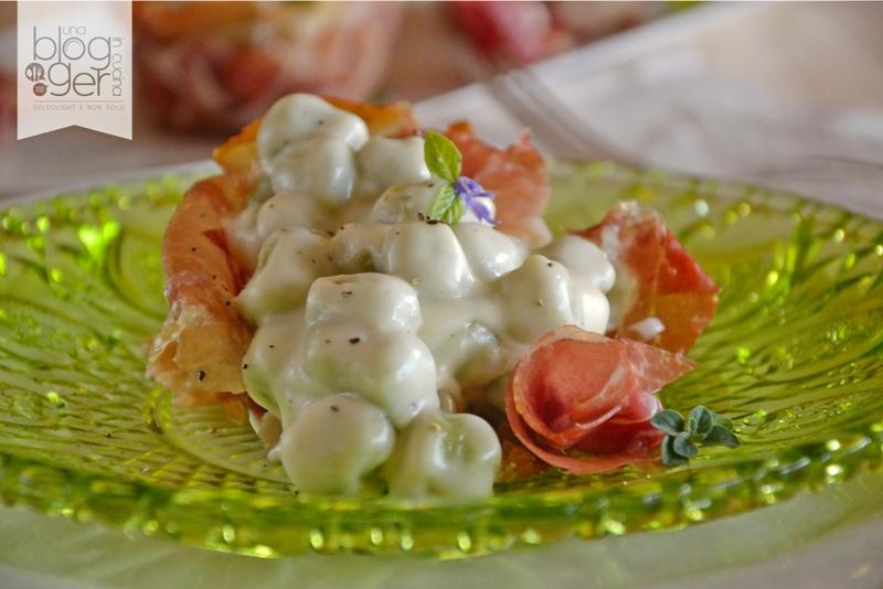 gnocchetti al basilico con crema di parmigiano e crudo cuneo (9)
