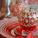 mele decorate come segnaposto (1)