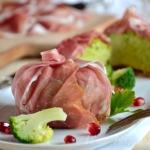 Flan di Broccoli con crudo di Parma (10)