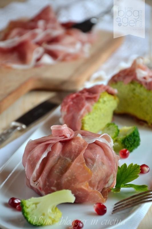 Flan di Broccoli con crudo di Parma (11)