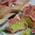 Flan di Broccoli con crudo di Parma (8)