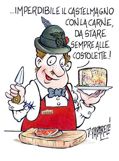 Vignetta Paparelli costata al Castelmagno