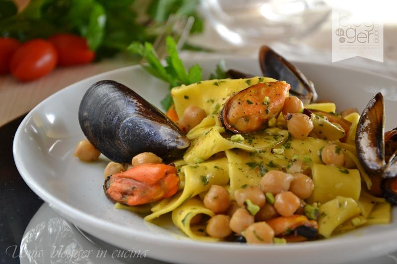 maltagliati cozze e ceci con pistacchi (6)