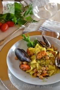 maltagliati cozze e ceci con pistacchi (8)