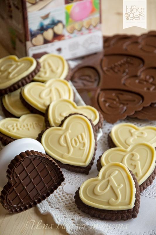 biscotti al cioccolato bianco a forma di cuore silikomart (1)