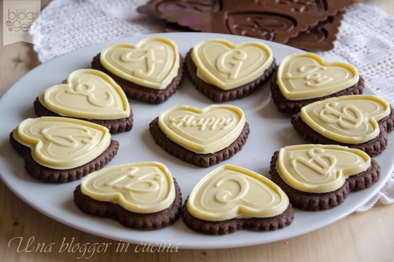 biscotti al cioccolato bianco a forma di cuore silikomart (2)