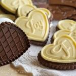 biscotti al cioccolato bianco a forma di cuore silikomart (3)