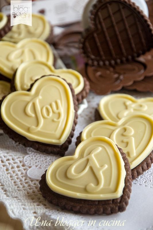 biscotti al cioccolato bianco a forma di cuore silikomart (4)