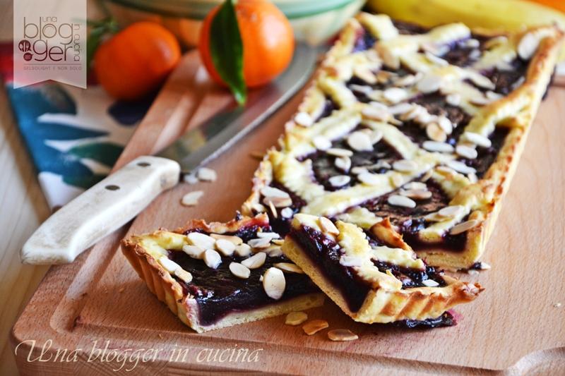 crostata mirtilli or