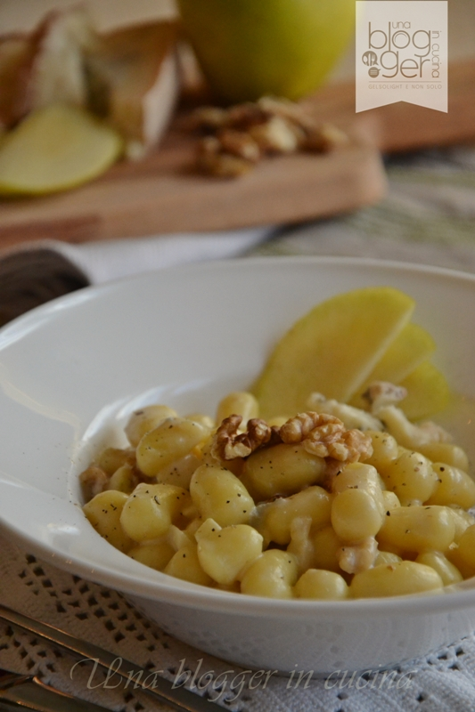 gnocchi gorgonzola mele e noci (2)