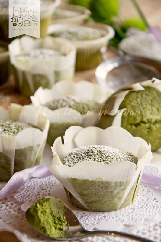 muffin matcha due
