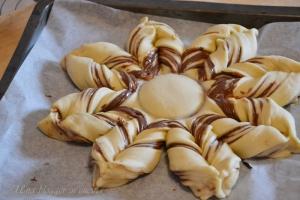 Stella di pan brioche alla nutella (10)