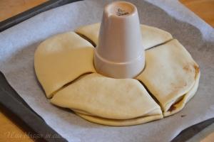 Stella di pan brioche alla nutella (6)